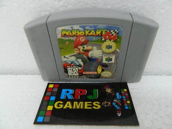 Mario Kart 64 Original Salvando Nintendo 64 N64 - Loja Rj