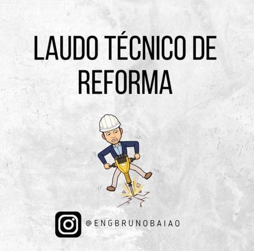 Imagem 1 de 8 de Laudo De Reforma Art - Engenheiro Civil