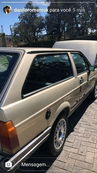 Volkswagen Parati 1986 1.6 Reliquia