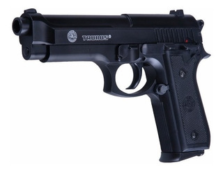Pistola Arma Balin 6mm Beretta Pt92 Riel Metálico Pesada