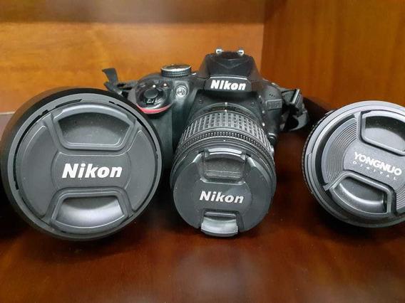 Nikon 3400 Mais 3 Jogos De Lentes