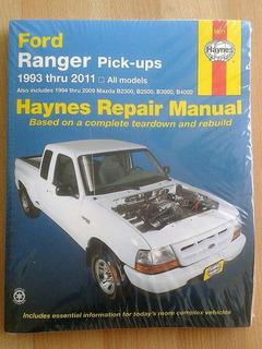 Manual Haynes Ford Pick Up Ranger 1993-2011/ Mazda 1994-2009
