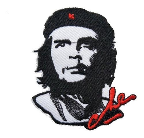Imagen 1 de 2 de Ernesto Che Guevara Parche Bordado Termo Adherible As34