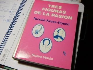 Tres Figuras De La Pasion Kress-rosen Libro