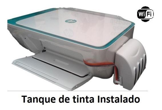 Impressora Hp 2676 Com Tanque De Tinta Bulk Ink Instalado