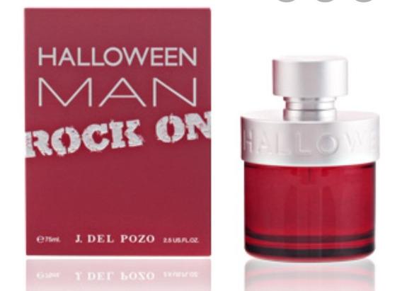 Perfume Halloween Man Rock On Edt 75ml - Original