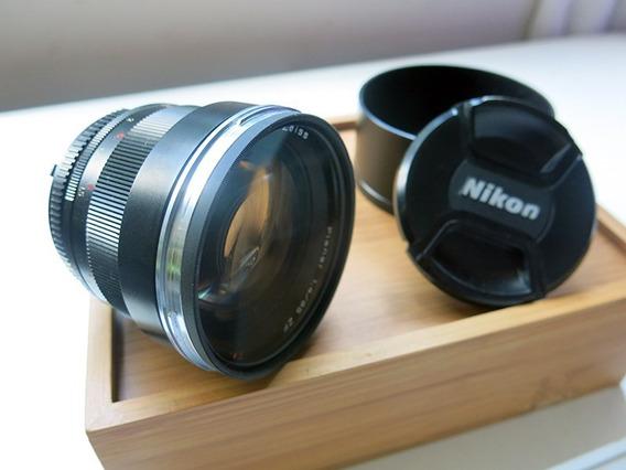Lente Zeiss 85 1.4 Para Nikon