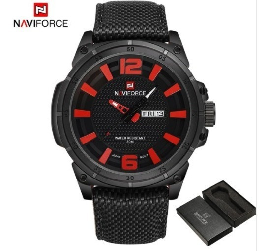 Relógio Naviforce Original Militar Promoção Zera Estoque