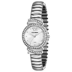 Relógio Mondaine Feminino Analógico Prata Mola 83261l0mvne2