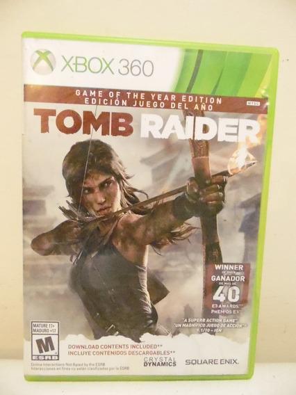 Tom Raider Juego Xbox 360 Disco H803