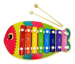 Xilófono Infantil Diseños Animales Juguete Musical 8 Teclas