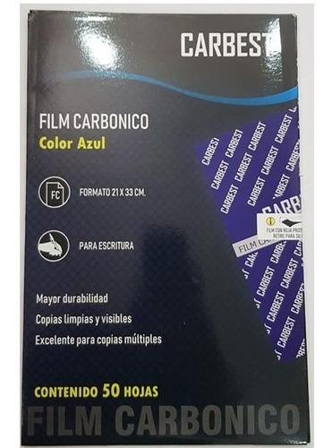 Carbonico Film Azul X 50