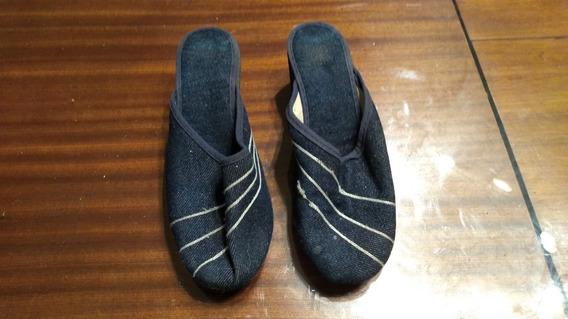 Lote De 10 Pares De Pantuflas-zapatillas-sandalias Y Otros