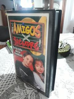 Vhs Novela Amigos Para Sempre Belinda Martin Ricca Original!