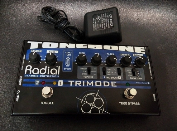 Trimode Tube Distortion Pedal Overdrive Preamp Bendblues