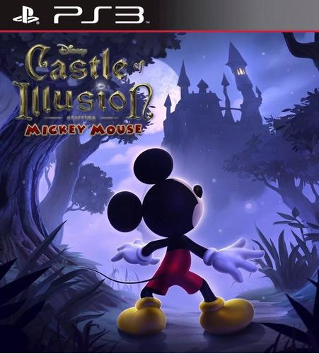 Disney Castle Of Illusion Mickey Juego Ps3 Original Play 3
