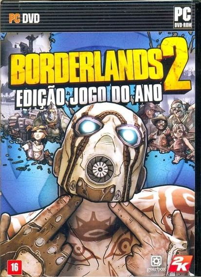 Game Pc Borderlands 2 Edicao Jogo Do Ano,deslacrado,sem Uso