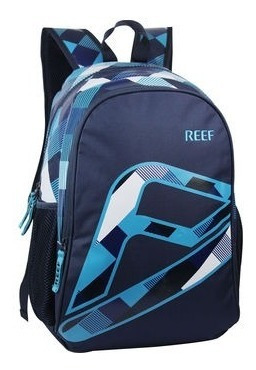 Mochila Reef Original Bordada Estampada Colegio Escolar