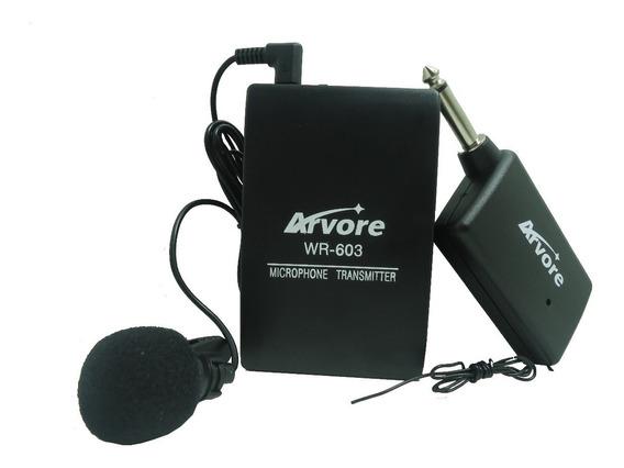 Kit 2 Microfone De Lapela Sem Fio Profissional Plug P10