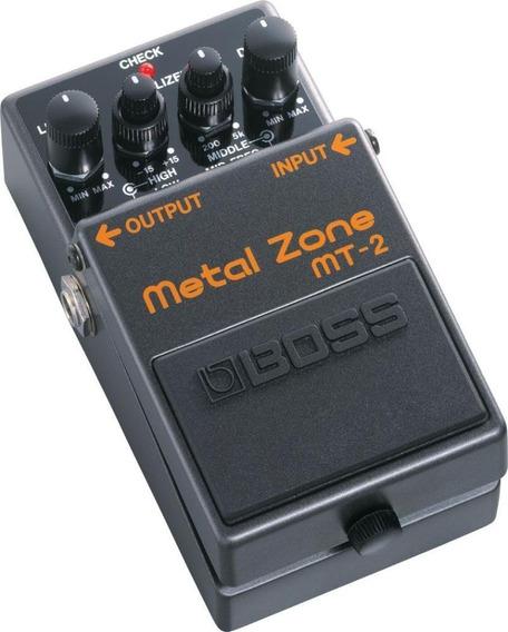 Pedal Metal Zone Mt-2 Boss