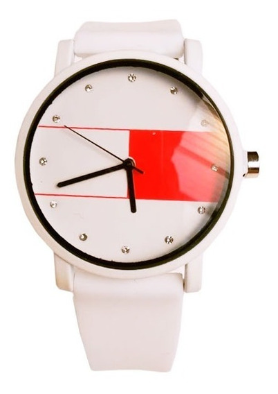Relógio De Pulso Vestaria Tomny Com Pulseira De Borracha Fem