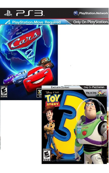 Carros 2: The Videogame + Toy Story 3 Ps3