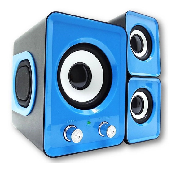 Sistema Som Hometheater Subwoofer 11w Pc Tv Fm Cartão Sd Usb