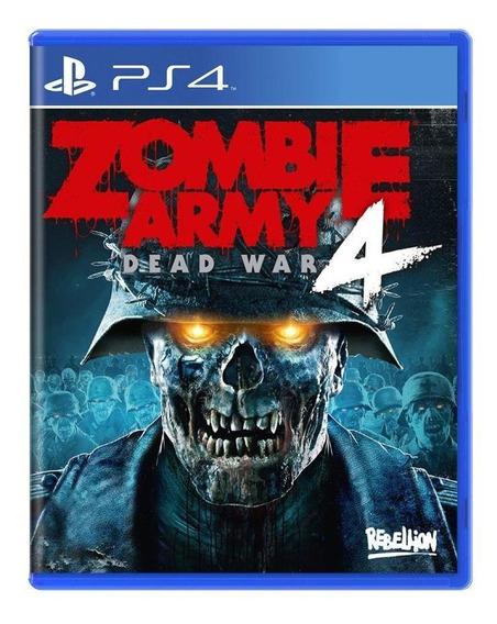 Zombie Army 4 Dead War Ps4 Mídia Física Novo Lacrado