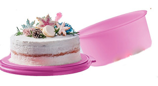 Recipiente Maxi Pastelera Guardar Pastel Pan Tupperware