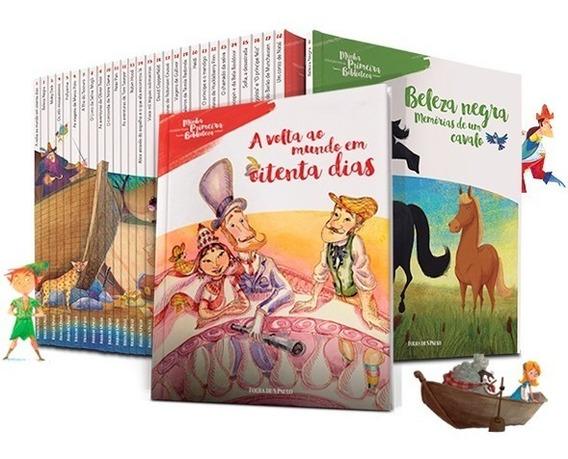 Coleção Completa Livros Folha Minha Primeira Biblioteca 28 V