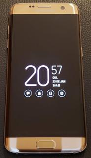Celular Samsung Galaxy S7 Edge Dourado 32gb
