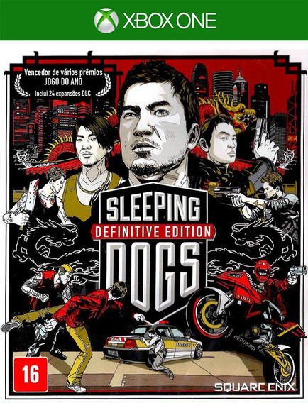 Sleeping Dogs Definitive Xbox One - 100% Original ( 25 Díg )