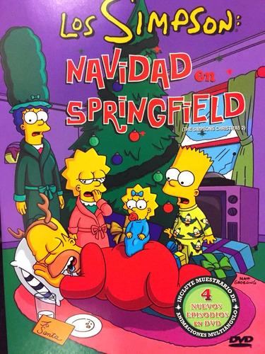 Los Simpson Navidad En Springfield Dvd Nuevo Original