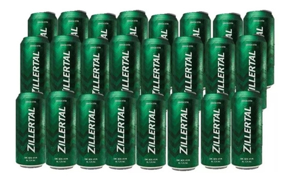 Cerveza Zillertal Lata 473 Cc X24