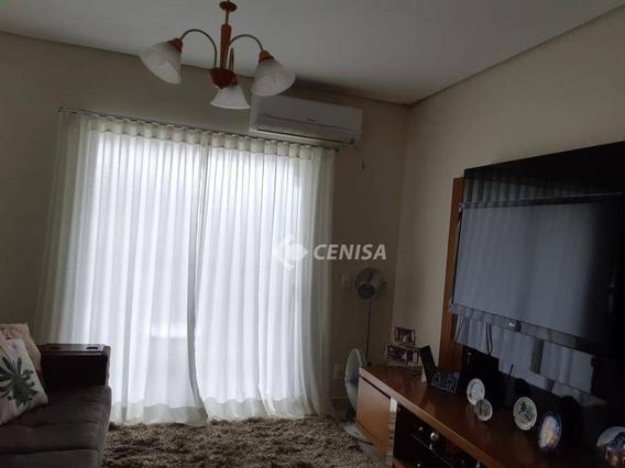 Casa Com 3 Dormitórios À Venda, 140 M² - Condomínio Villaggio Di Itaici - Indaiatuba/sp - Ca1893