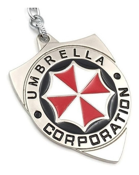 Umbrella Corporation Resident Evil Llavero Metal Importado