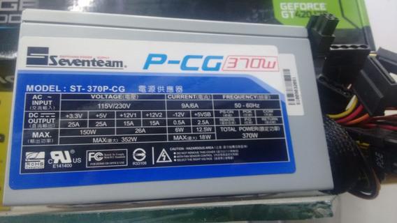 Fonte Seventeam 370w St-370pcg Atx V2.2