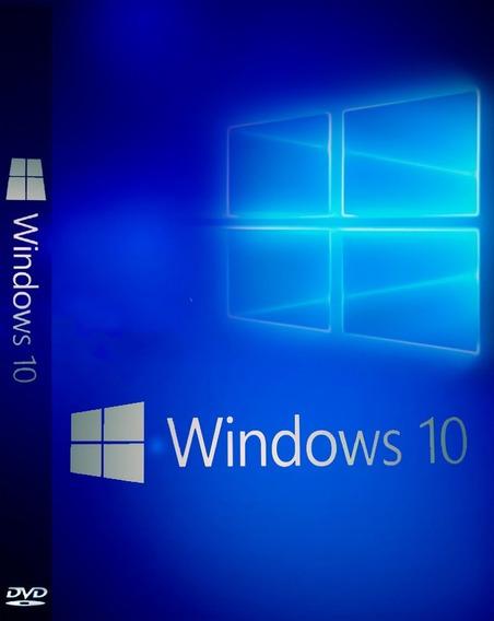 Windows 10 32 E 64 Bits Com Ativador + Pacote De Drivers