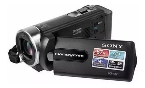 Camêra Filmadora Sony Modelo Dcr-sx21