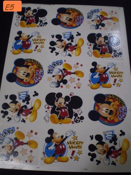 Calcos Vitrificables Mickey Minnie