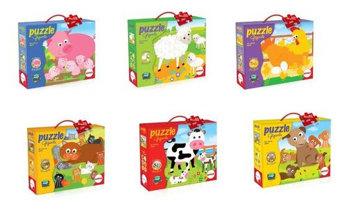 Rompecabezas Puzzle Infantil 9 Piezas Antex 3027