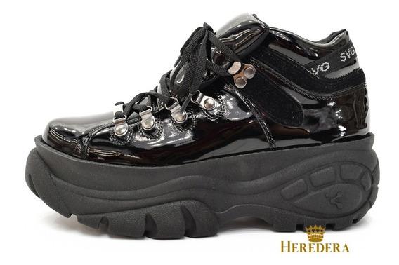 Zapatilla Sneakers Urbanas Savage Moda Dama Art Bf 202