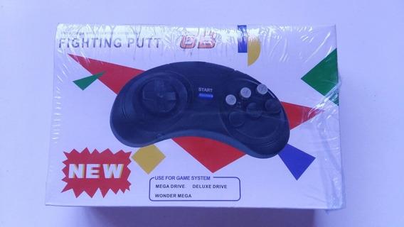 Controle Mega Drive Novo Controle Gênesis 1 2 3 Novo 100% Ok