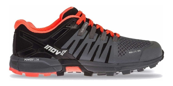 Zapatillas Inov-8 Roclite 305 Mujer Gris/negro/coral