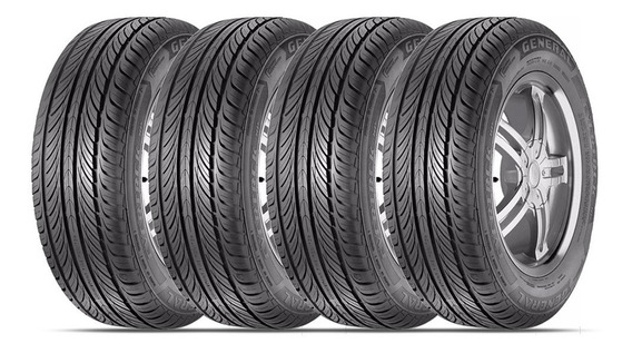 Kit 4 Pneus 205/55r16 Evertrek Hp 91h By Continental