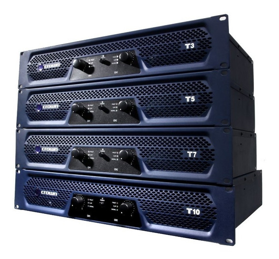 Amplificador Potencia Crown T5 T-5 T 5 10gz 1500w 4 Ohm 220v