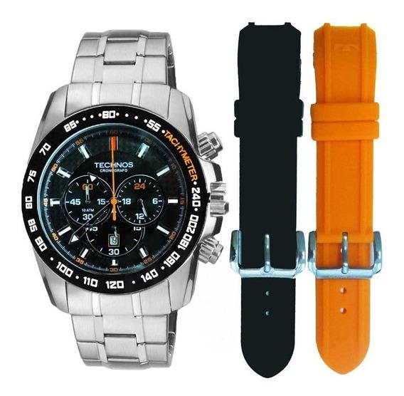 Relógio Masculino Technos Esportivo Ts Carbon Os20hm/1p