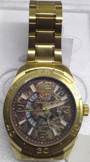 Relógio Masculino Condor Co2315an/4x Dourado Grande Barato
