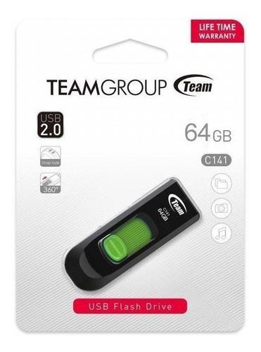 Pendrive Team Group 64gb Usb 2.0 Mem Flash Nuevo Original