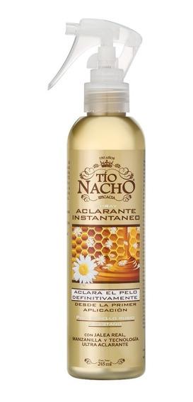 Tío Nacho Spray Aclarante Instantáneo X 245ml X 2 Unidades
